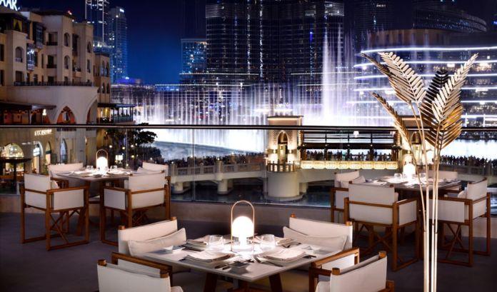 zeta restaurant lounge lobby level address downtown - Romantic Places in Dubai
