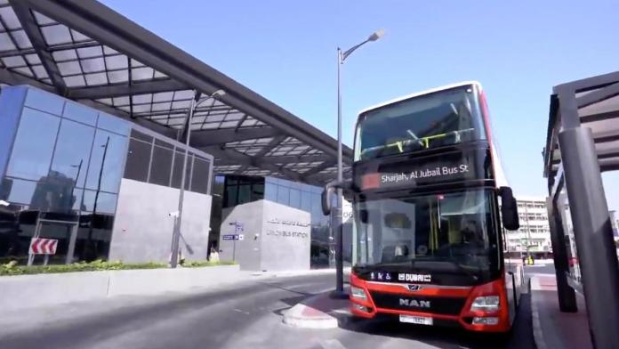 Dubai Bus new stations