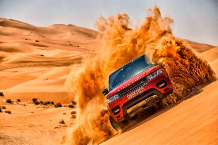 Dune Bashing at Dubai Desert Safari HD