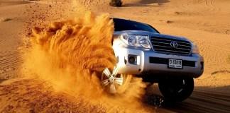 Dune Bashing at Dubai Desert Safari