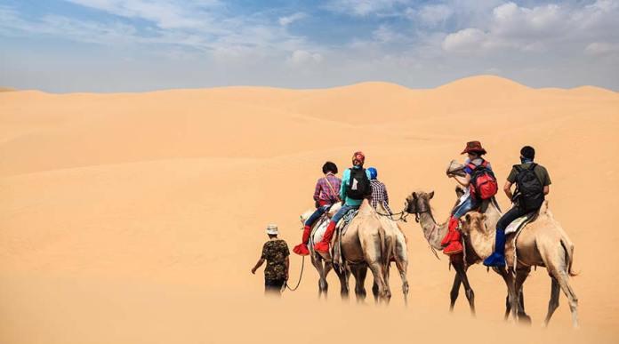 Dubai Camel ride tours - Dubai Desert Safari