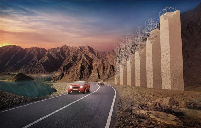 Place to go on a long drive in Hatta, UAE