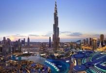 Downtown Dubai (the tallest building is Burj Khalifa)