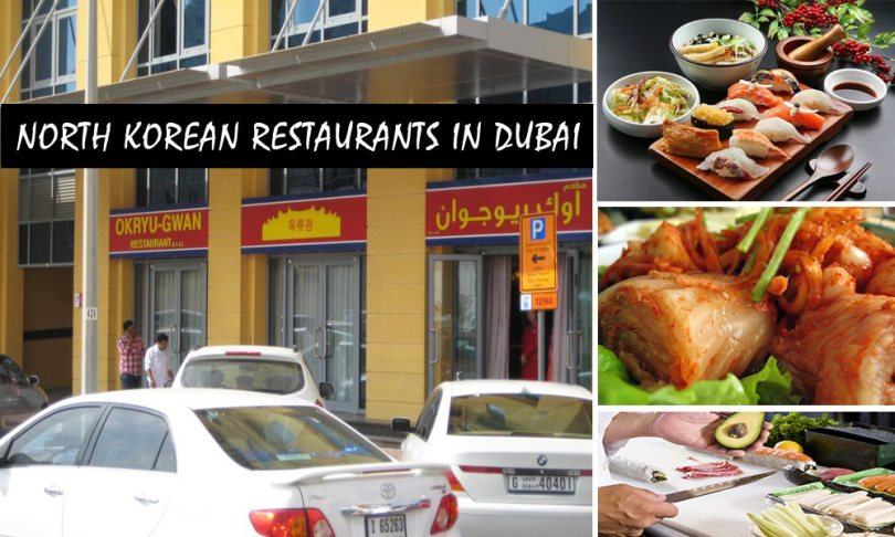 north korean restaurant Dubai