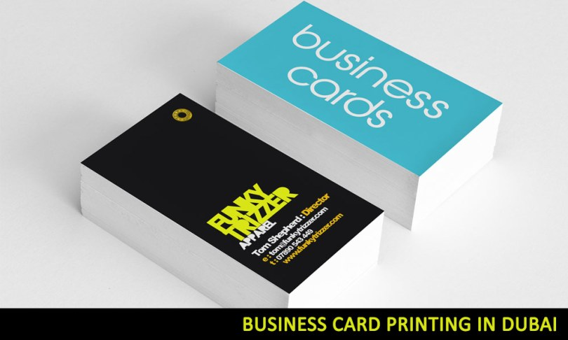 business card printing dubai