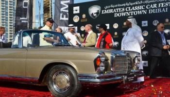 Emirates Classic Car Festival 2014 27 Feb To 3 Mar At Downtown Dubai