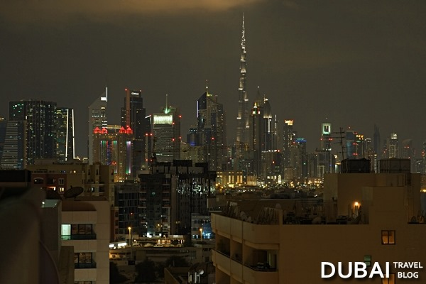 view of dubai skyline