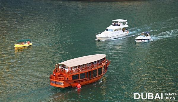 boats in dubai marina