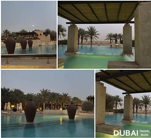 bab al shams night swimming pool