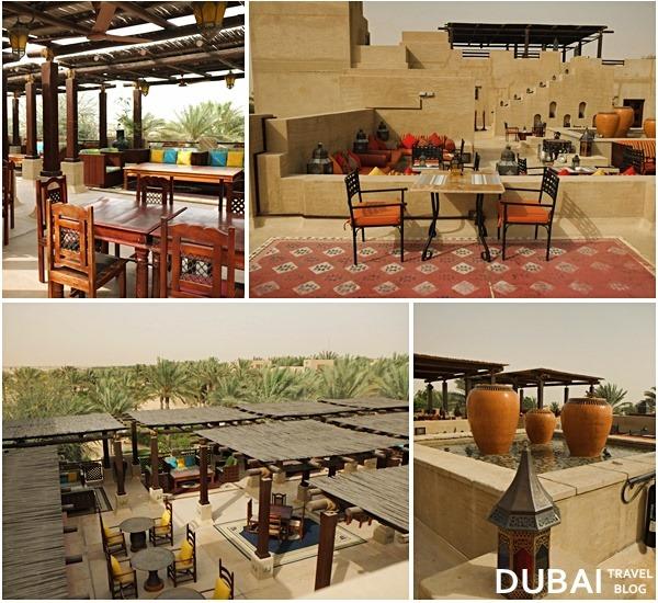 restaurants in bab al shams rooftop
