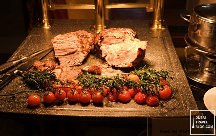 roast leg of lamb dubai