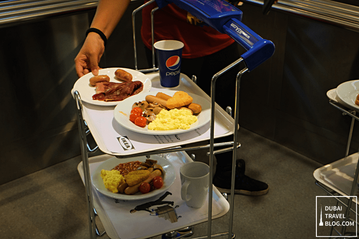 ikea breakfast trolley