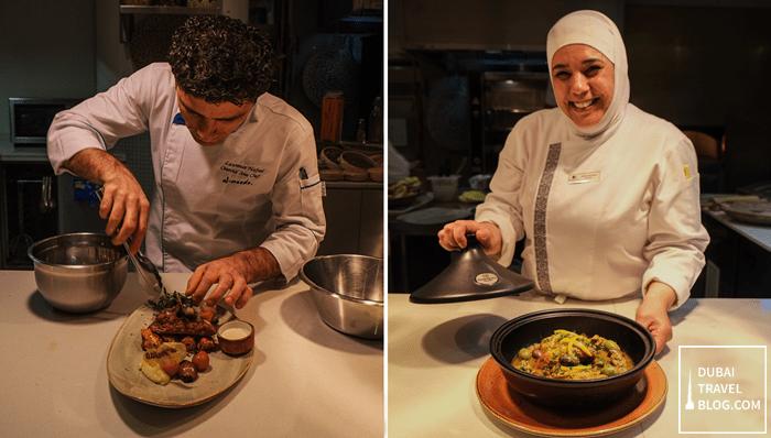 Chef Lawrence and Chef Halima