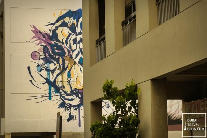 tiger painting karama souq
