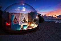 Luxury Beach Bubble Tent Launched In Maldives Dubai