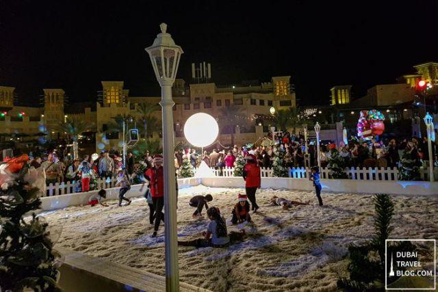 children's snow play area madinat jumeirah