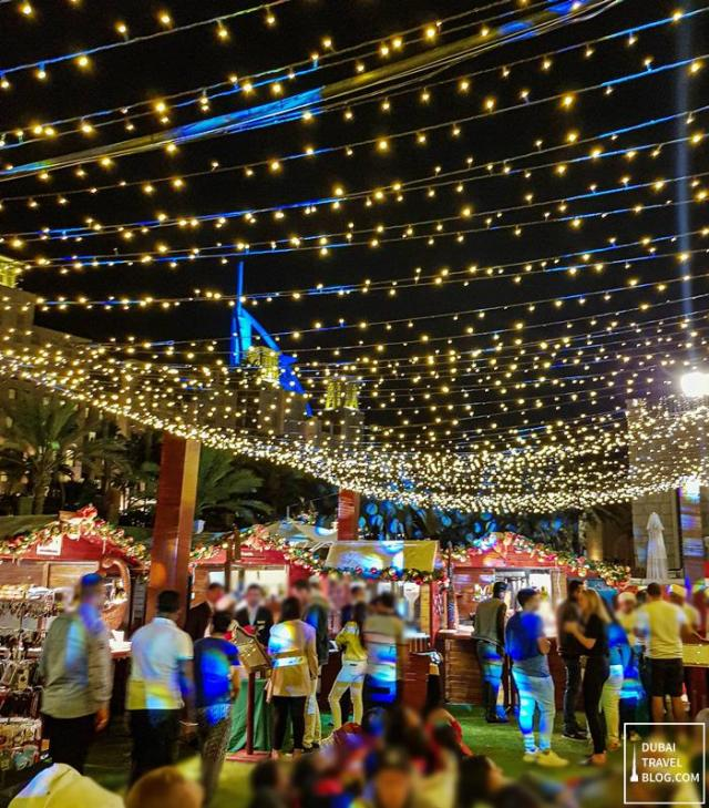 christmas lights madinat jumeirah