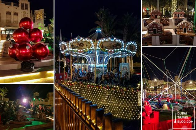 xmas festive market madinat jumeirah