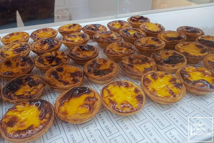 freshly baked portugese egg tarts doce nata