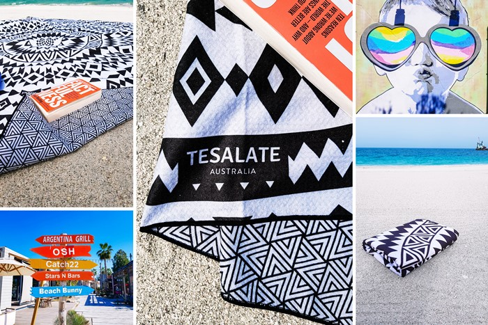 Tesalate Australia Beach Towel review in Dubai UAE