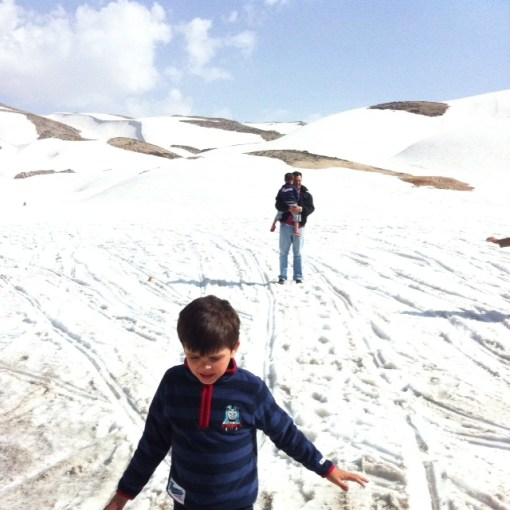 WHITE: Faraya, Lebanon (who knew there were ski resorts in the Middle East?
