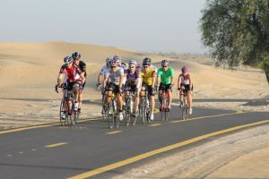 Inspired to get on your bike? Try this wonderful cycle track located on the Al Qudra Road (Past Arabian Ranches).