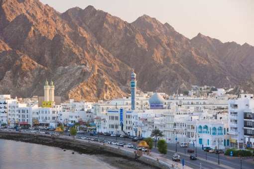 Topped with minarets, Muttrah stretches along an attractive corniche