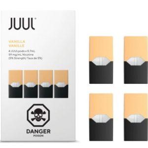 JUUL Pod Vanilla Flavor 4 Pods Pack