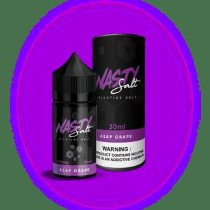 NASTY Saltnic ASAP Grape