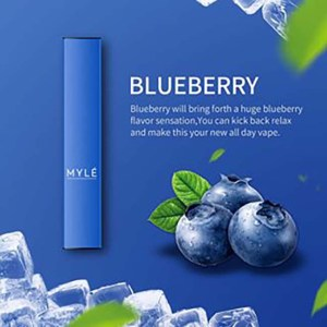 MYLE Disposable Pods Blueberry
