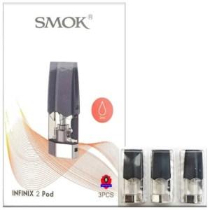 SMOK INFINIX 2 Pod Cartridges Empty Refillable