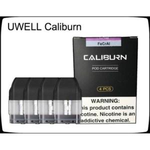 UWELL CALIBURN Pod Cartridges Empty Refillable