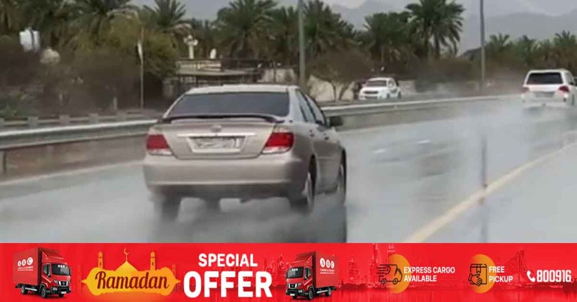 Heavy rains hit UAE for third time in 4 days