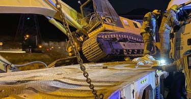 One person was injured in a truck and gas tanker accident in Fujairah_dubaivartha_uae_malayalamnews