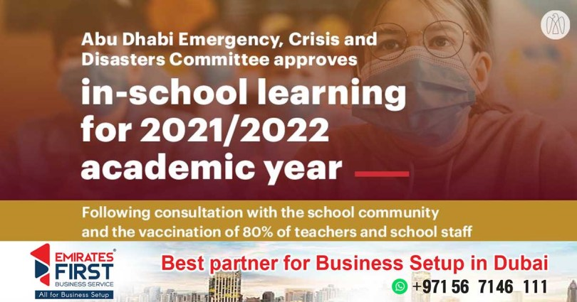 In Abu Dhabi, students will return to school campuses for class from September_dubaivartha