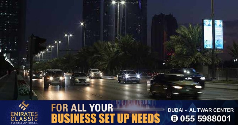 Abu Dhabi police say fines will be levied for driving without night lights in Abu Dhabi_dubaivartha