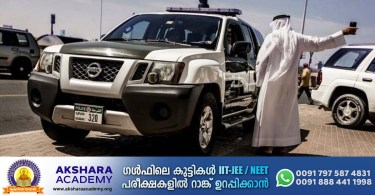 Dubai police have arrested four children for driving without a license in Hatta.
