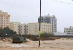 Rare tropical cyclone Shaheen is battering the coast of Oman