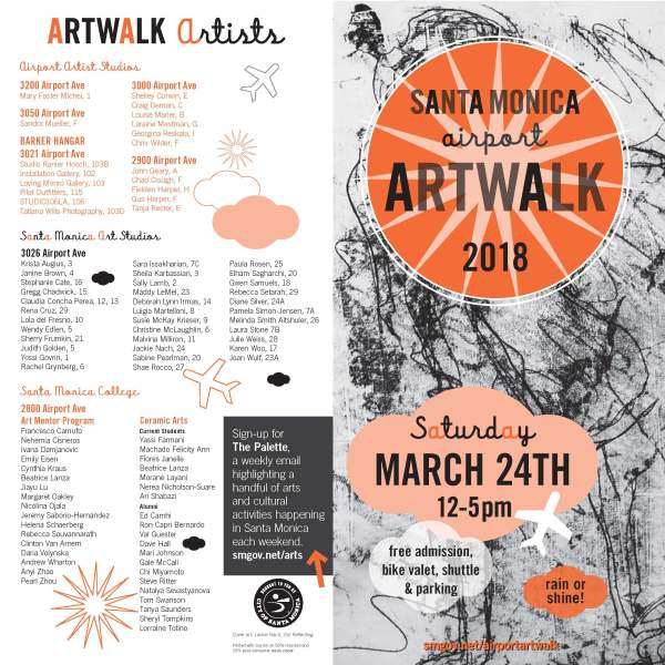 Santa Monica Airport Artwalk 2018 With Slayron Dublab