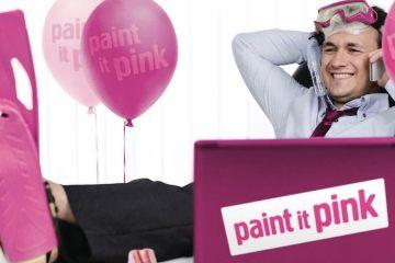 Paint It Pink 2015 campaign