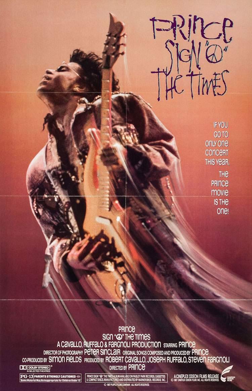 Sign O The Times - Dublin Music Film Festival 2016