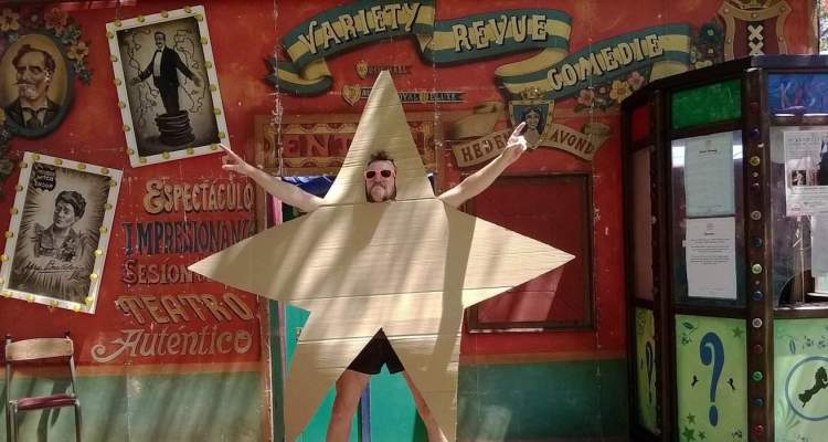 Laya City Spectacular Starman