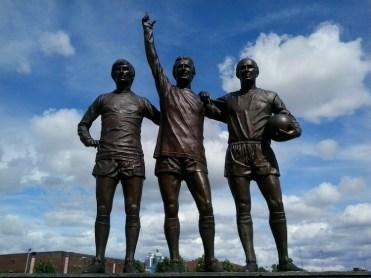 Man Utd, players statue