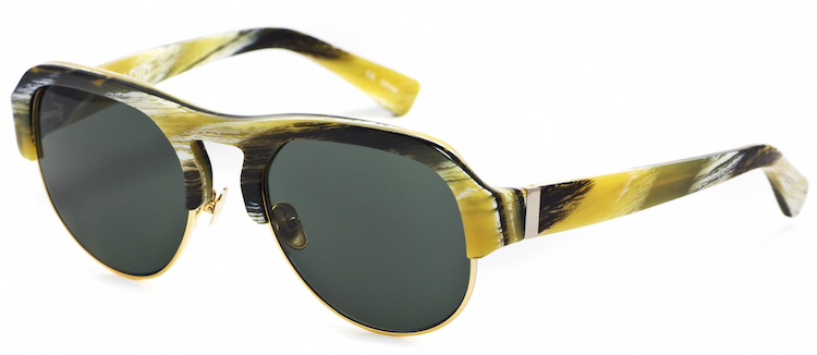 Hadid Eyewear Nomad Horn and Gold at The Marvel Room at Brown Thomas