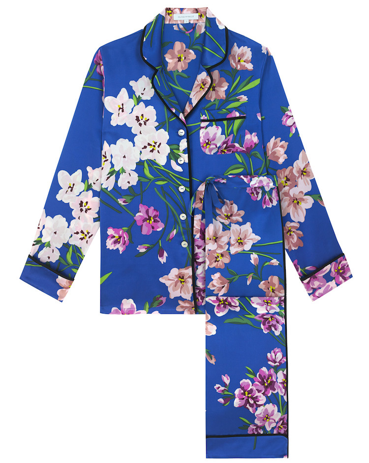Olivia Von Halle Briella Floral Pyjamas The Marvel Room at Brown Thomas