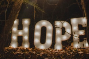 Hope by Ron Smith on Unsplash