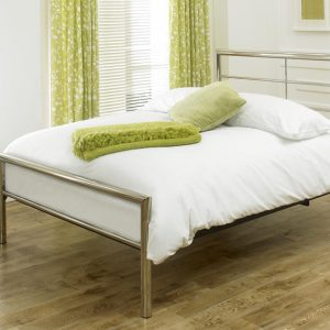 Limelight Celestial Chrome King Bed Frame