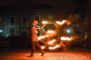 Fire Hula Hoops