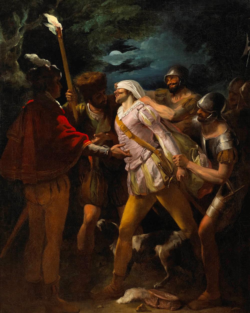 Francis Wheatley Parolles Ambushed and blindfolded - Fota House
