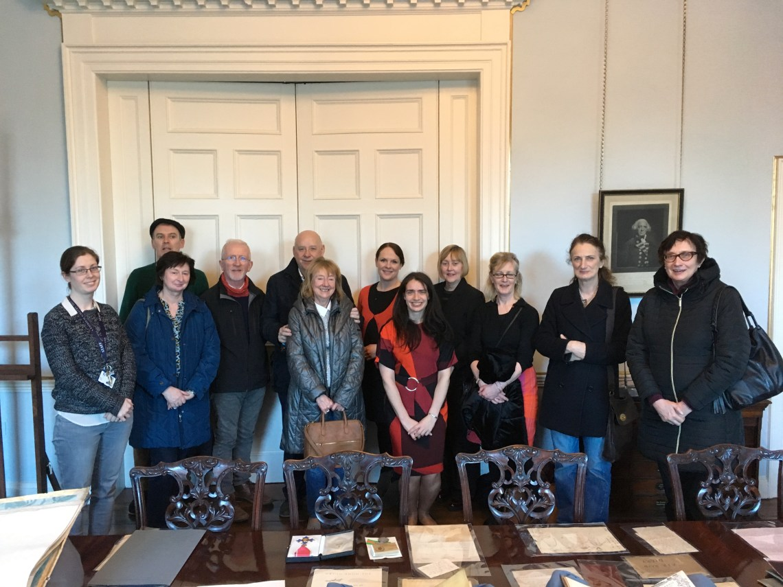 at the DEnnis Mahon archive NGI March 2018